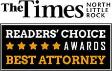 Logo for The Times North Little Rock Readers Choice Awards Best Attorney